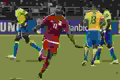 Bảng A CAN 2015: Đánh bại Gabon, chủ nhà đi tiếp