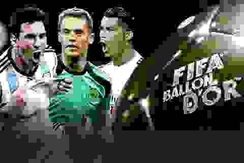 Những sự kiện bóng đá thế giới nổi bật trong năm 2015