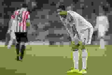 C.Ronaldo tệ chưa từng thấy trong màu áo Real Madrid