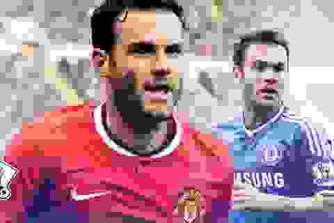 """Trước trận MU-Chelsea: Chờ Juan Mata """"đáp lễ"""" Mourinho"""