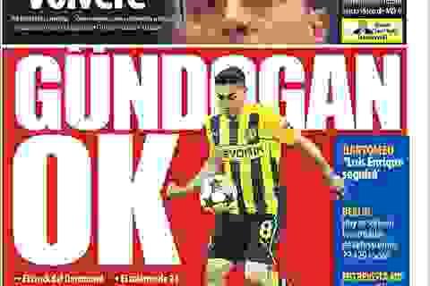 Gundogan vượt qua kiểm tra y tế với Barcelona