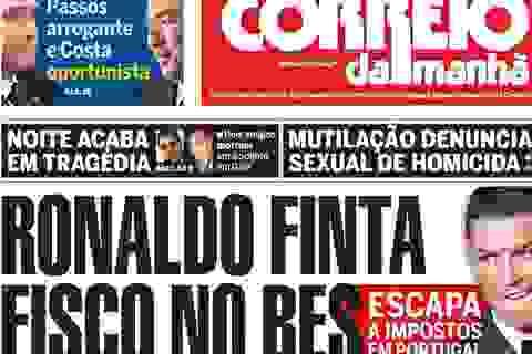 C.Ronaldo bất ngờ dính nghi án trốn thuế