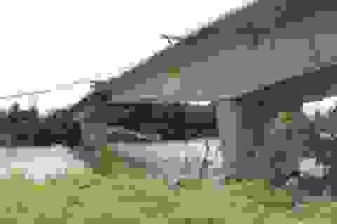 """Sắp hoàn thành cây cầu bị """"đắp chiếu"""" nhiều năm"""