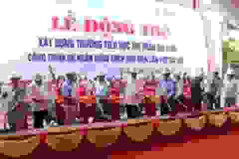 Quảng Trị: Khởi công xây trường cho hơn 700 học sinh tiểu học
