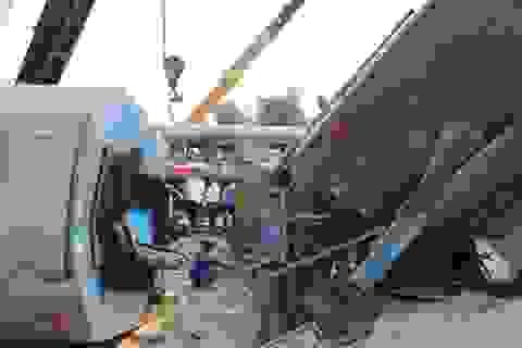 Tai nạn tàu hỏa ở Quảng Trị: Nỗ lực giải cứu các toa tàu lật