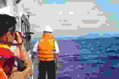 """Tìm kiếm 8 thuyền viên mất tích: """"Xoáy"""" vào vùng biển Ninh Thuận - Bình Thuận"""