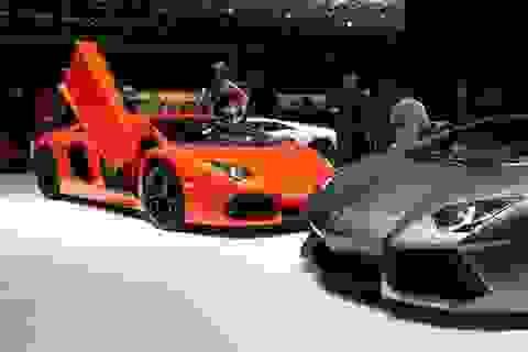 Siêu xe Aventador được trang bị công nghệ ngắt xy-lanh