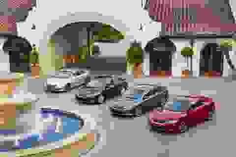 """Honda Accord """"qua mặt"""" Toyota Camry tại Mỹ"""