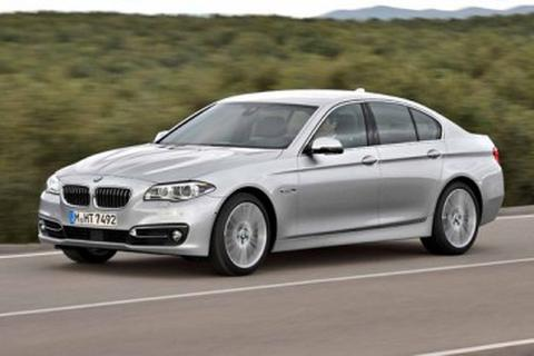 Thay đổi nhỏ cho xe BMW 5-Series 2014