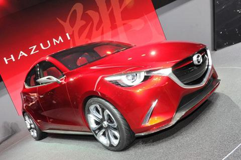 Cận cảnh mẫu xe tương lai của Mazda2