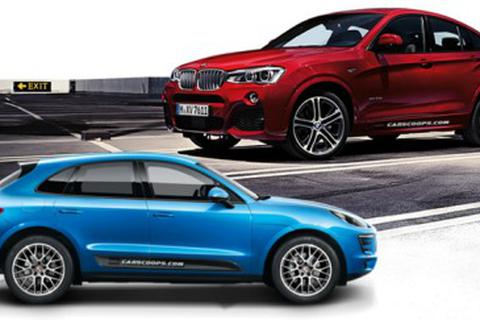 So sánh BMW X4 với Porsche Macan