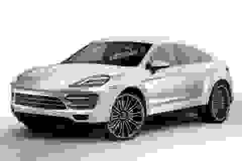 Cayenne Coupe sẽ cạnh tranh BMW X6?