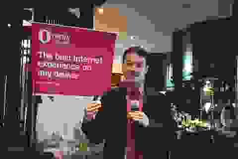 33% người dùng Việt sử dụng Opera Mini từ smartphone