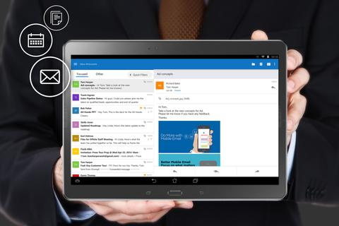 Microsoft ra mắt phần mềm Outlook cho iOS và Android