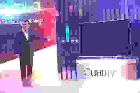 Samsung đưa TV SUHD màn hình cong cao cấp về Việt Nam
