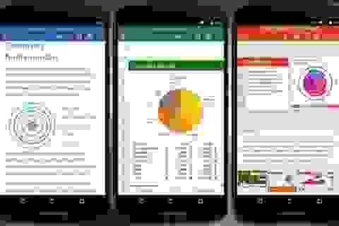 Microsoft ra mắt ứng dụng Office miễn phí cho Android