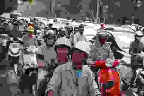 Hà Nội: Một tuần nữa chủ xe máy phải đóng phí đường bộ