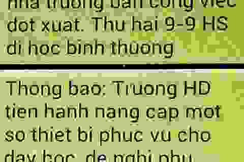 """Công bố danh tính """"tin tặc"""" khiến hàng trăm học sinh Hà Nội nghỉ học"""