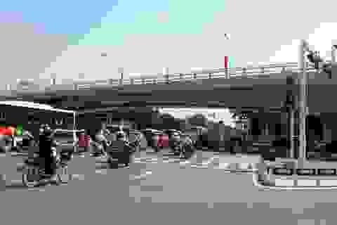 Ngày mai thông xe cầu vượt dầm thép lớn nhất Hà Nội