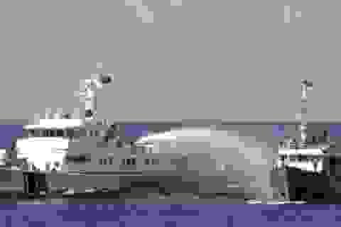 Tàu Trung Quốc tiếp tục dùng vòi rồng tấn công tàu Việt Nam