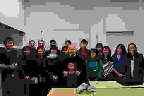 Lớp học tiếng Pháp của thầy giáo người Pháp yêu Việt Nam