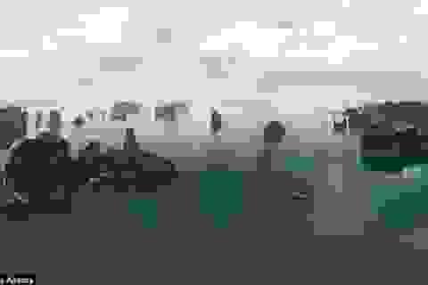 Vịnh Hạ Long đẹp mê hồn với góc chụp toàn cảnh từ trên cao