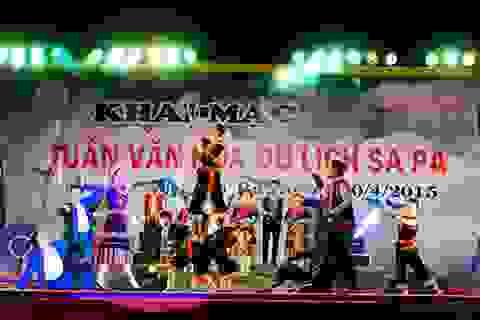 """Nhiều hoạt động đặc sắc trong """"Tuần văn hóa - du lịch Sa Pa 2015"""""""