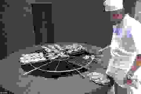 Xem nướng thịt ở... núi lửa nóng tới 500 độ C