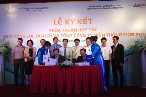 Hợp tác quảng bá du lịch Việt Nam qua mạng di động
