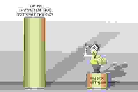 """Tự chủ đại học và """"Top 200"""""""