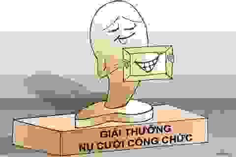 """""""Giải thưởng cười"""" ở """"vương quốc"""" luôn vắng tiếng cười!"""