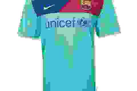 Thiết kế áo đấu mới của Barca: Sọc ngang khác lạ