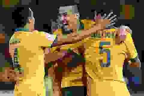 Hạ ngọt UAE, Australia tiến bước vào chung kết gặp Hàn Quốc