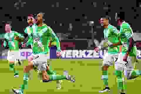"Wolfsburg 4-1 Bayern Munich: ""Hùm xám"" thảm bại"