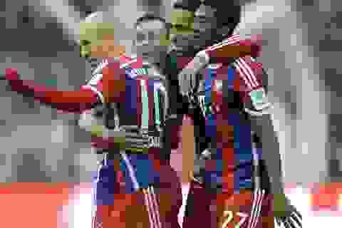 "Bayern Munich 8-0 Hamburg: ""Hùm xám"" giương oai"