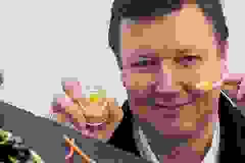 Trứng cá trộn vàng - món ăn đắt đỏ nhất hành tinh