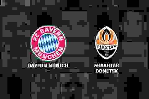Bayern Munich - Shakhtar Donetsk: Khó có bất ngờ