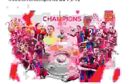 Bayern Munich chính thức lên ngôi vô địch Bundesliga