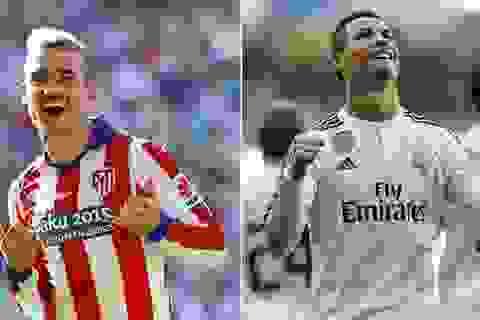 Griezmann và C.Ronaldo: Đại pháo so tài ở Vicente Caldron