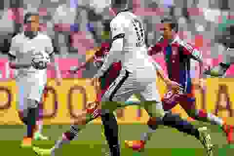 """""""Song sát"""" Lewandowski-Muller bùng nổ, Bayern Munich hạ ngọt Frankfurt"""