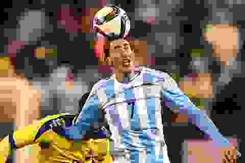 Argentina 2-1 Ecuador: Không Messi đã có Aguero và Pastore