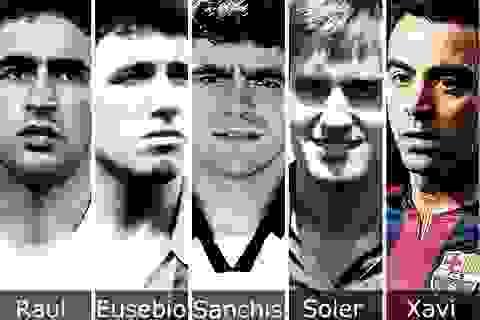 """[Infographics] Xavi: """"Ngài 500"""" của bóng đá Tây Ban Nha"""
