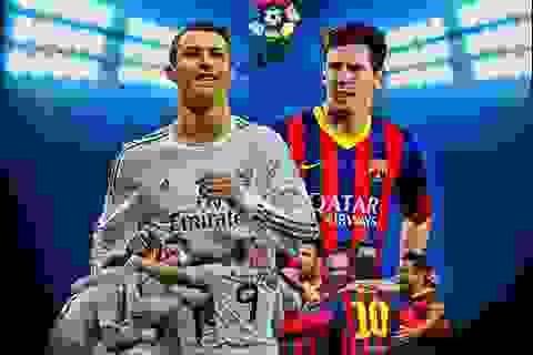 """[Infographics] Barca-Real: Ai là kẻ thống trị """"xứ sở bò tót"""""""