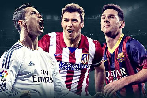 [Infographics] Những ông vua của La Liga