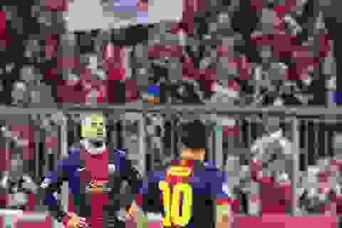 """Thống kê: Barca chưa từng thắng ở """"hang hùm"""" Allianz Arena"""