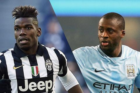 Man City: Tiễn Yaya Toure, đón Paul Pogba