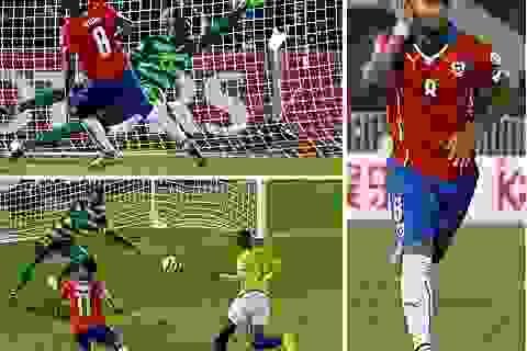 Vidal lập công, Chile thắng đẹp ngày mở màn