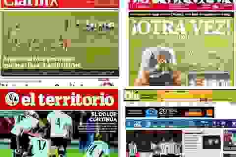 Báo giới Argentina thất vọng về thế hệ của Lionel Messi