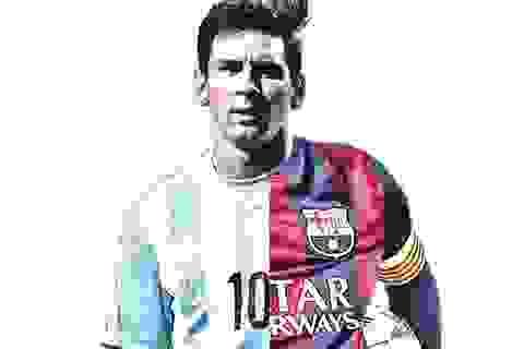 [Infographics] Messi: Đỉnh cao Barca và vực sâu Argentina