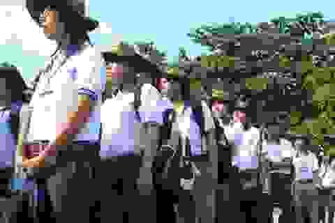 Trên 340 tình nguyện viên tham gia tiếp sức mùa thi
